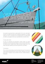 Exel System 30 Light Weight Structures, data sheet