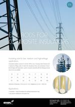 Rods for Composite Insulators, data sheet