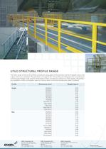 UTILO Structural Profile Range, data sheet