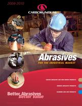 Carborundum Abrasives for the Industrial Market