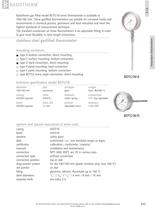 BDTG18 - Stainless steel gasfilled thermometer
