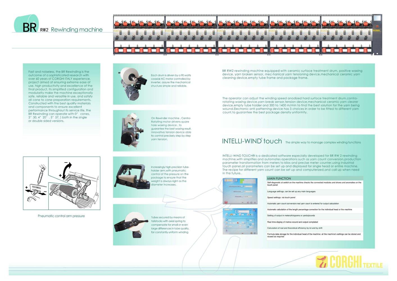 BR RW2 - CORGHI TEXTILE - PDF Catalogue | Technical Documentation ...