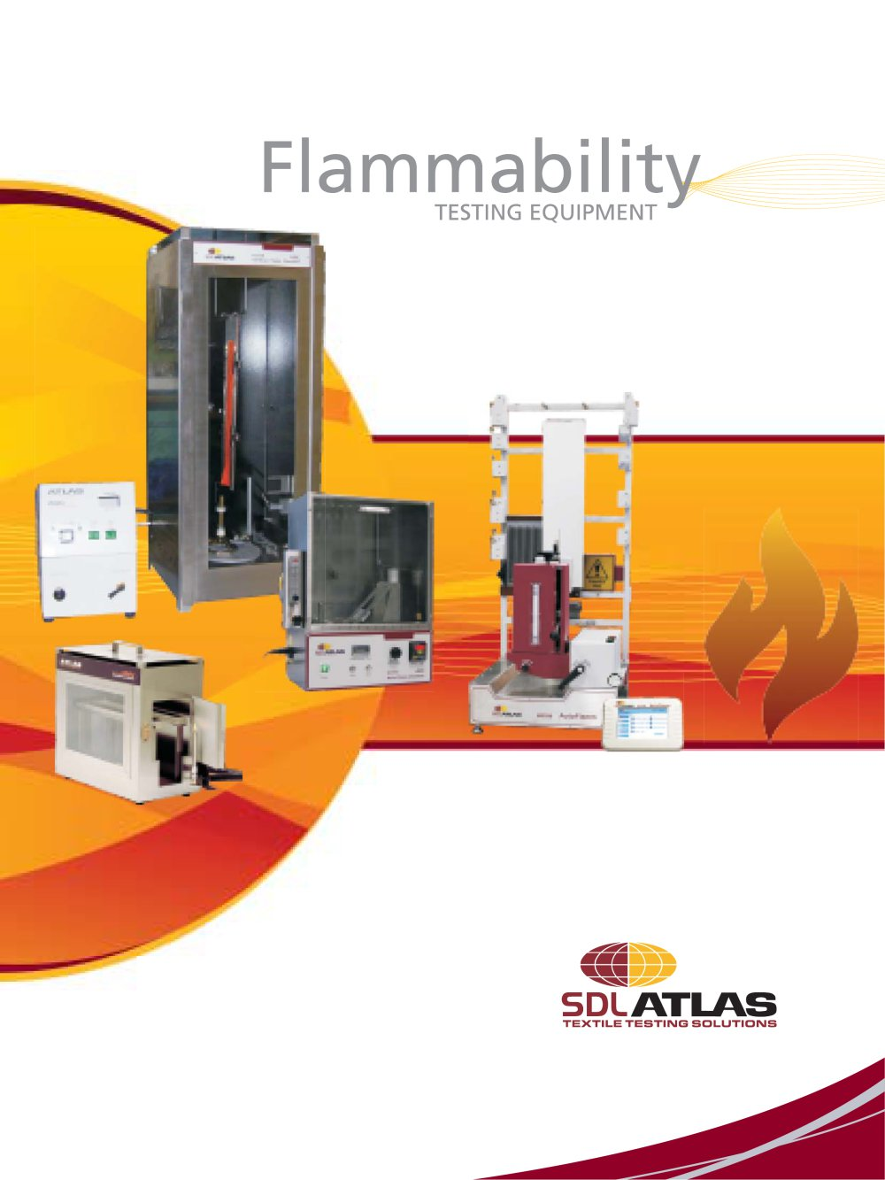 afc 45� automatic flammability tester - 1 / 6 pages