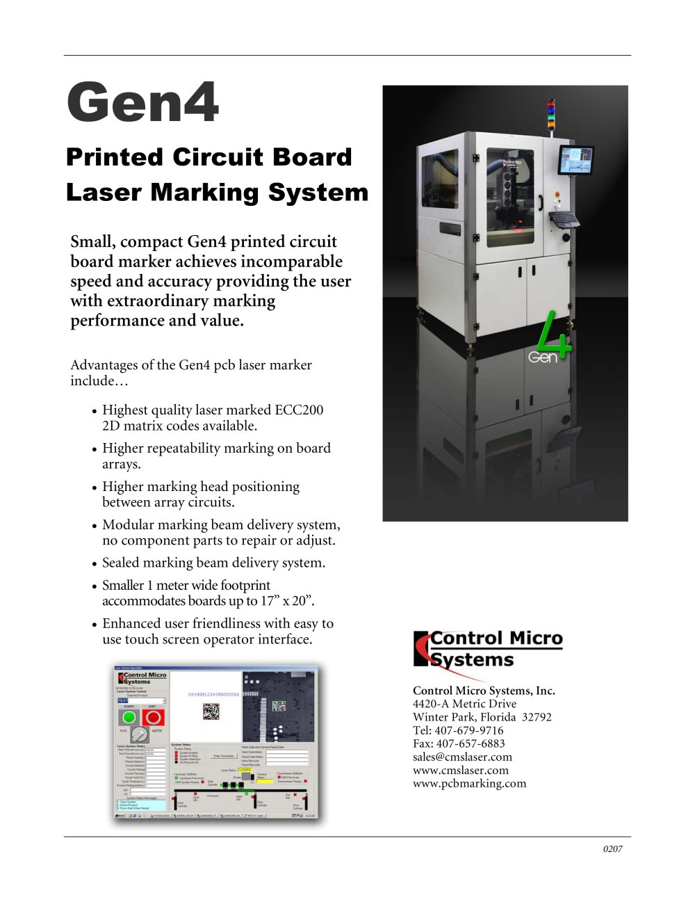 Printed Circuit Board Laser Marking System Control Micro Systems Boards Pcb Using The Cutter 1 Pages