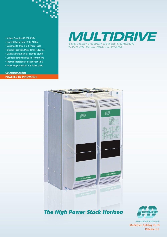 Multidrive 3PH - cdautomation - PDF Catalogue | Technical ...