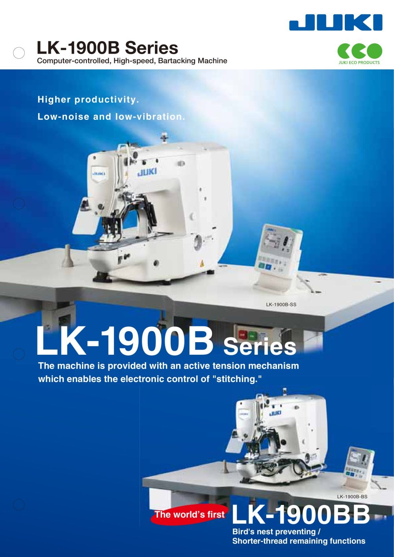 LK-1900B-HS LK-1900B-WS - 1 / 7 Pages