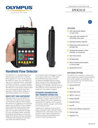 EPOCH LT Ultrasonic Flaw Detectors