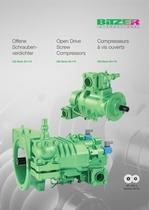 Open Drive Screw Compressors - OS53./OS74.  SP-500-3