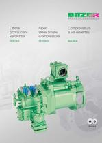 Open Drive Screw Compressors - OS85-Series  SP-510-2