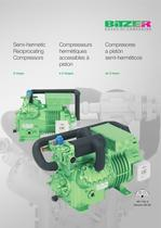 Semi-hermetic Reciprocating Compressors 2-stage (60Hz, IP-Units) KP-155-3