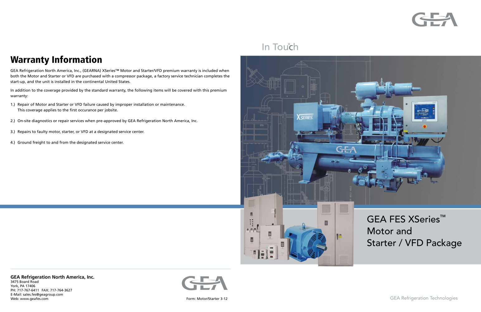 FES Motor Starter - 1 / 2 Pages
