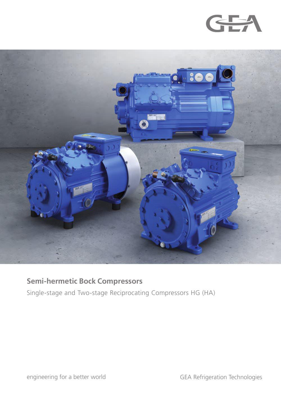Bock compressor catalogue
