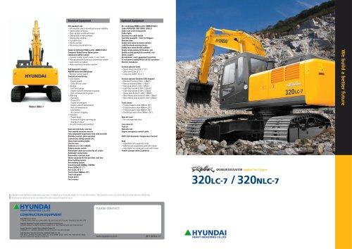 R320LC-7 - HYUNDAI HEAVY INDUSTRIES - PDF Catalogs | Technical ... on