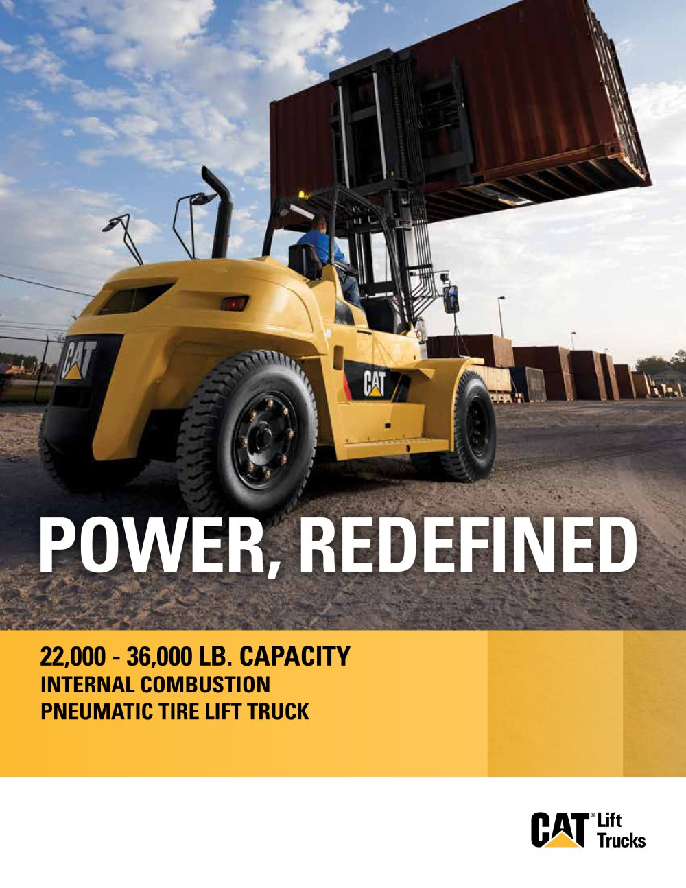 Capacity internal combustion pneumatic tire diesel lift trucks 1 8 pages