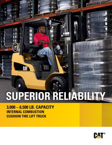 SUPERIOR RELIABILITY - Cat Lift Trucks - PDF Catalogs