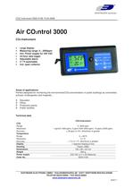 Air Conrol 3000 CO2-Instrument