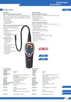 Gas leak detector GD 380/383
