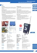 Handheld temperature instrument P300
