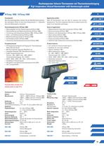 Hightemperature infrared thermometer HiTemp 1800/2400
