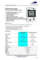 LOG 100/110 data logger series