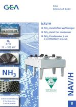 NH3 Axial fan condenser ( English - French - German )