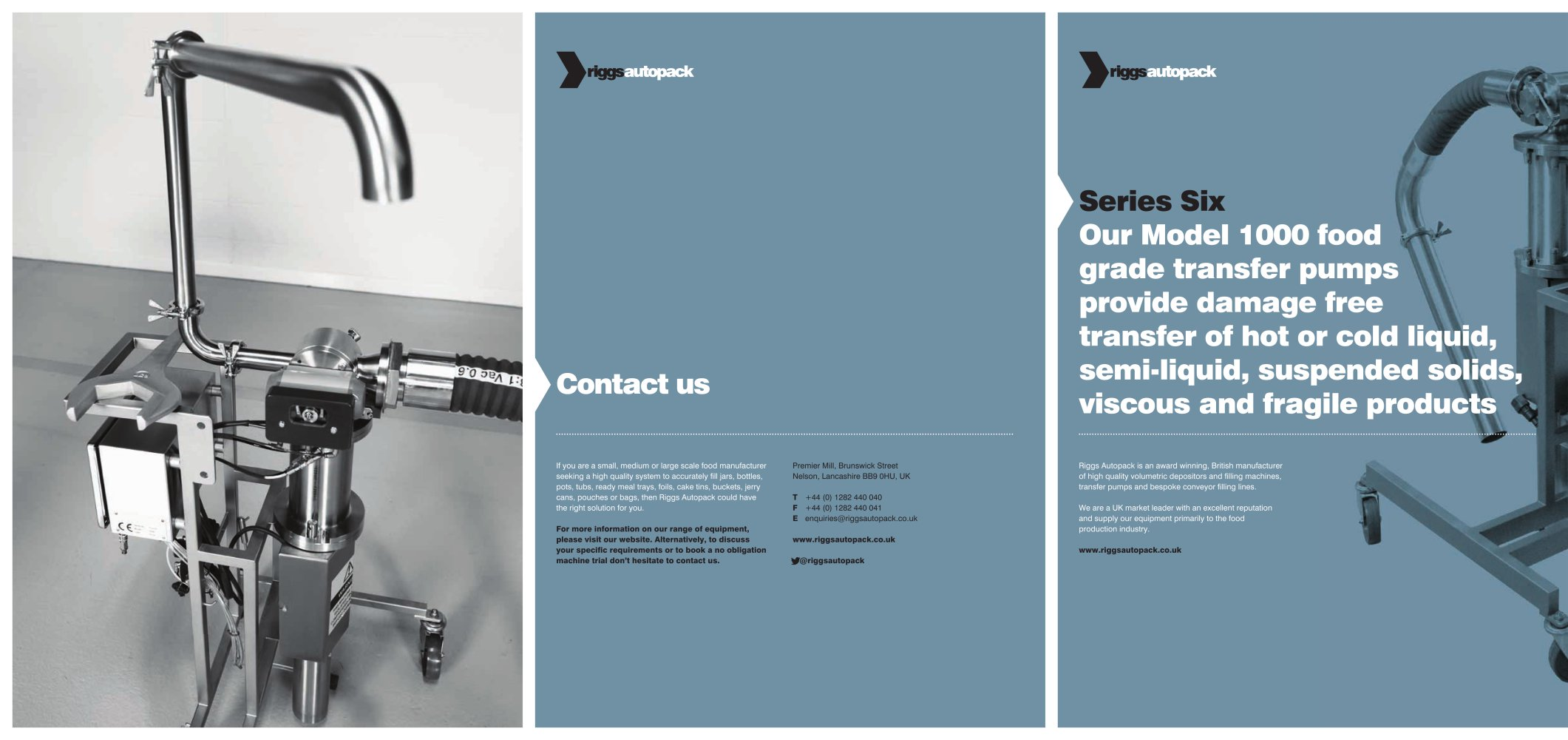 Series 6 Transfer Pumps Riggs Auto Pack Ltd Pdf Catalogs
