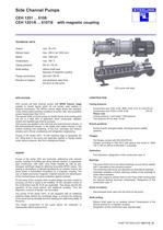 Side Channel Pumps CEH 1201 ... 6108 CEH 1201/6 ... ...