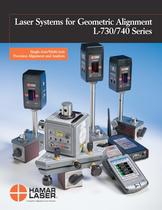 Laser Systems for Geometric Alignment L-730/740 Series