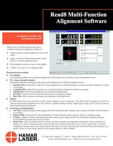 Read8 Multi-Function Alignment Software