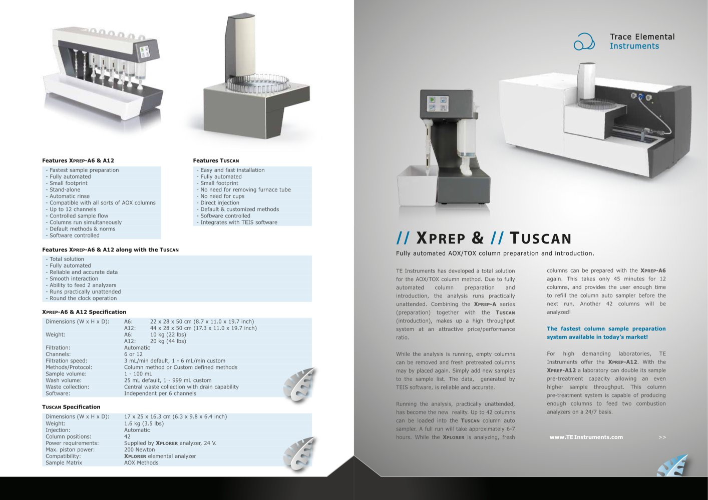 Sample Pre Brochure | Tuscan Te Instruments Pdf Catalogs Technical Documentation