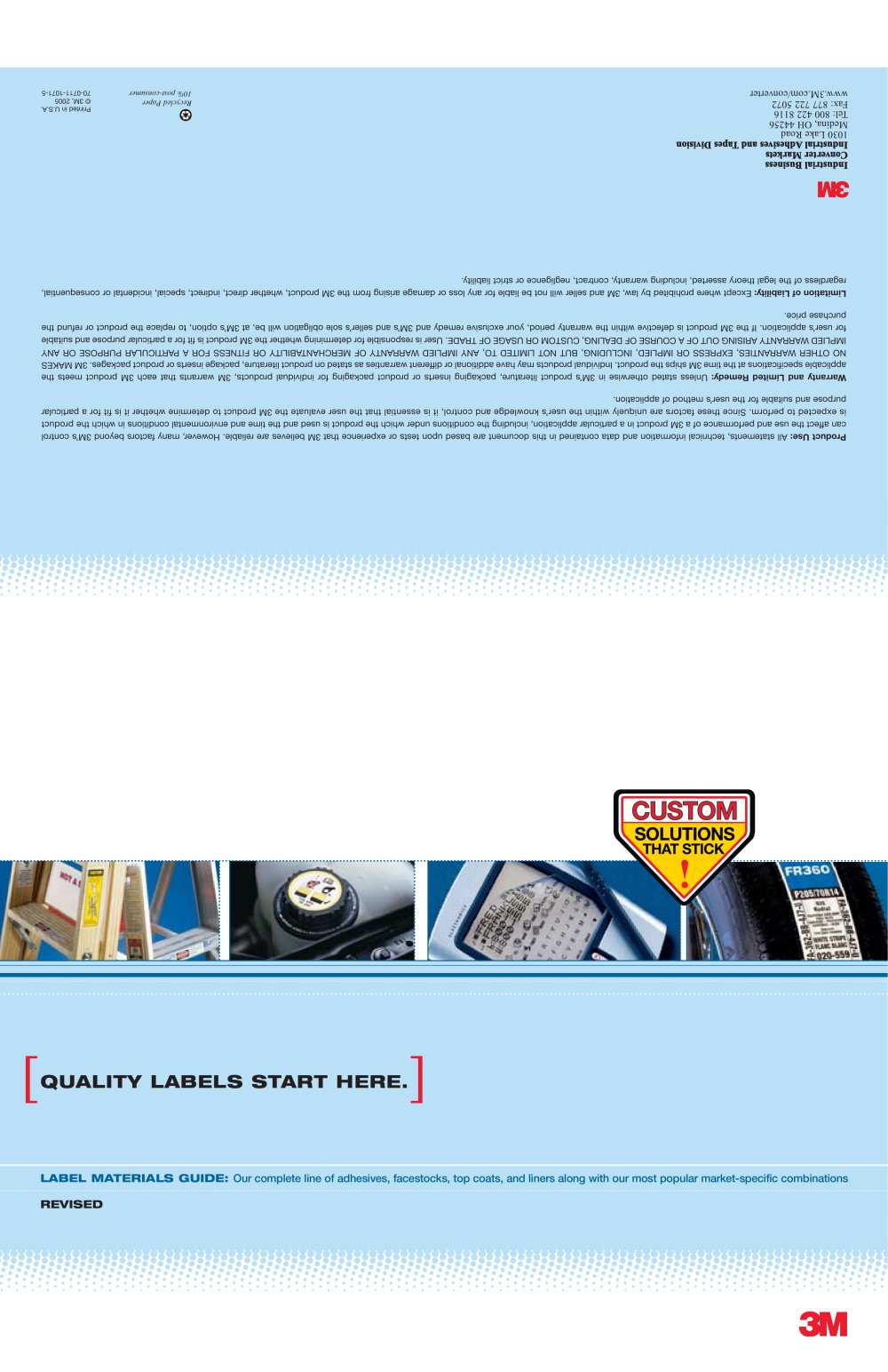 3m label materials guide 3m adhesives pdf catalogs technical