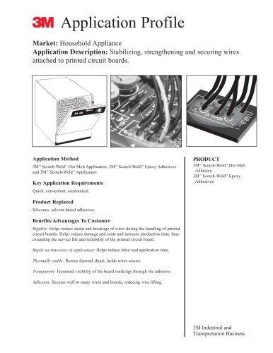 Application Profile - 3M Adhesives - PDF Catalogs