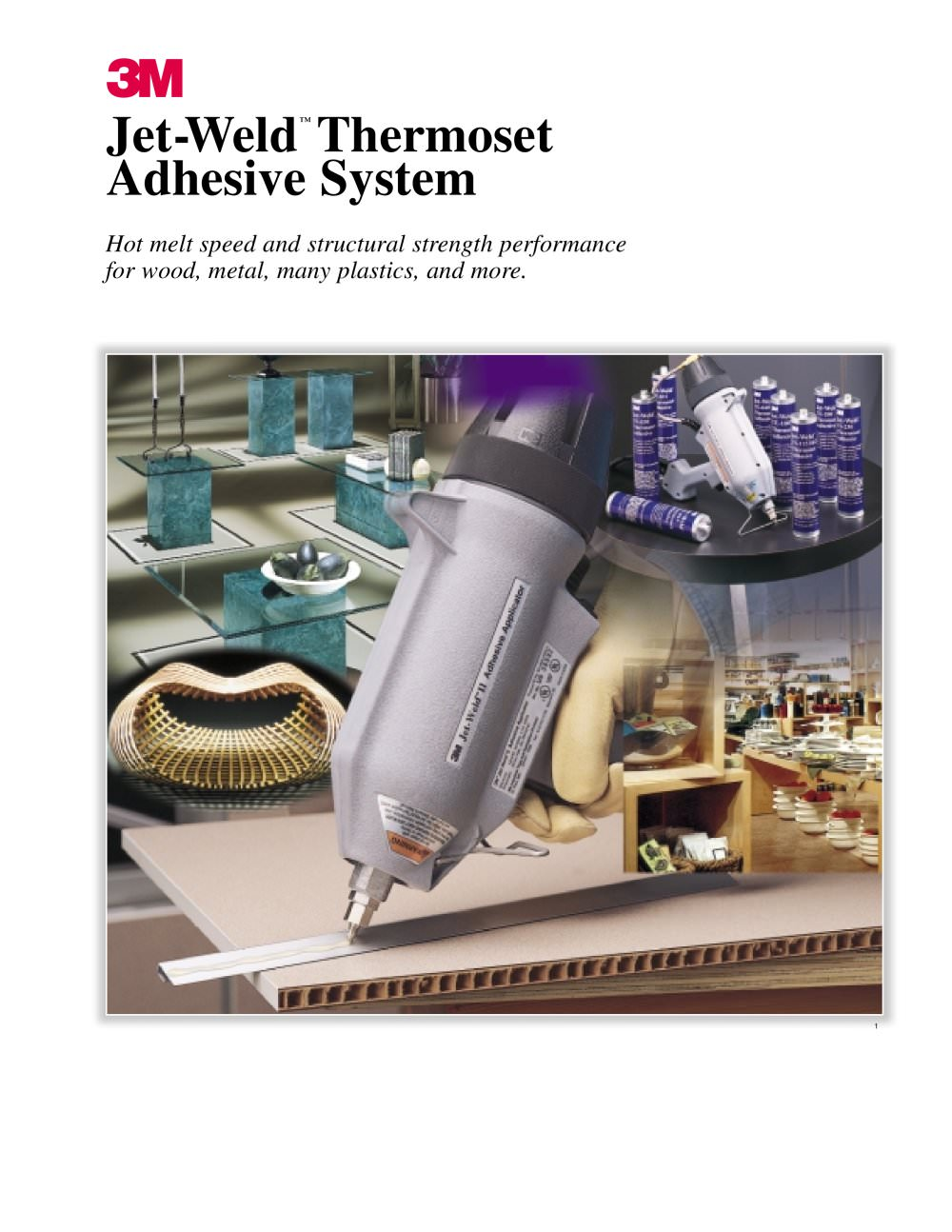 Jet-Weld?Thermoset Adhesive System - 1 / 8 Pages  sc 1 st  Catalogues Directindustry & Jet-Weld?Thermoset Adhesive System - 3M Adhesives - PDF Catalogue ...