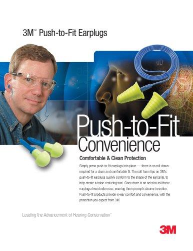 3M? Push-to-fit Earplugs - 3M Occupational Health/Environmental