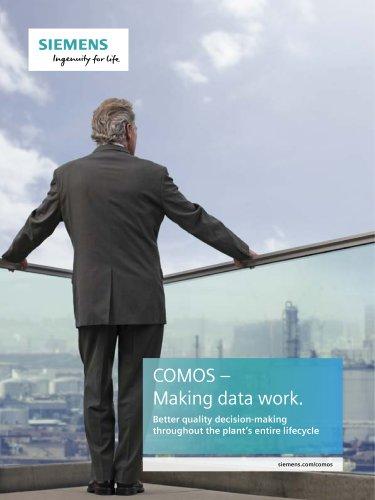 COMOS – Making data work