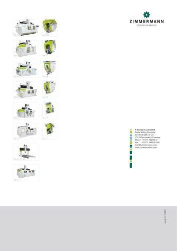 F. Zimmermann GmbH product brochure FZ 30 FZ35