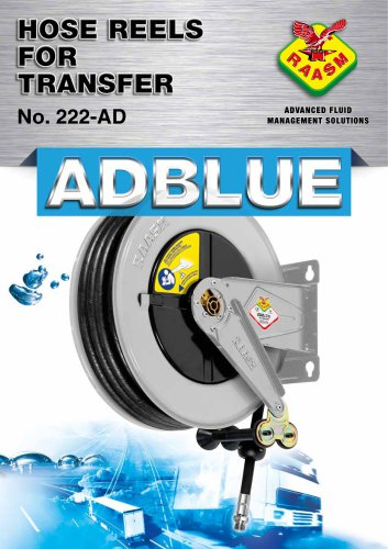 AdBlue hose reels