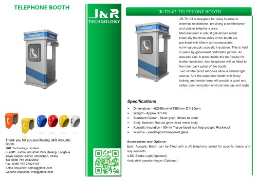 Oil&Gas Industrial Booth JR-TH-03
