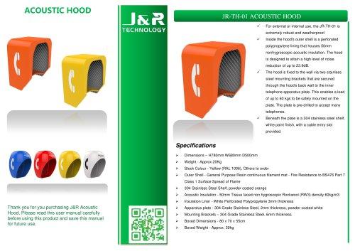 Schalldichte Telefonzelle JR-TH-01