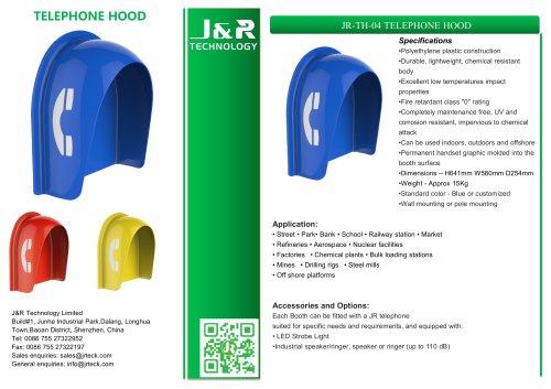 Vandalensichere Telefonzelle JR-TH-04