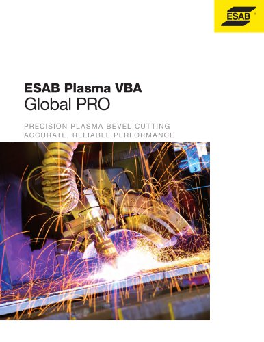 ESAB Plasma VBA - ESAB - PDF Catalogs | Technical