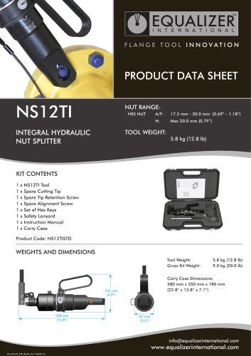 NS12TI Mutternsprenger mit integrierte Pumpe