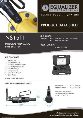NS15TI Mutternsprenger mit integrierte Pumpe