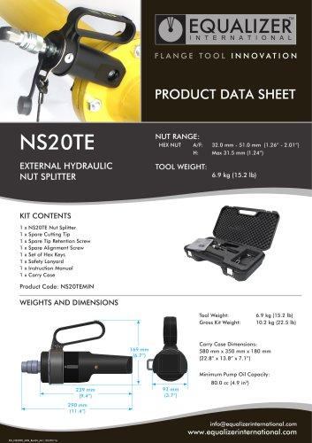 NS20TE Mutternsprenger hydraulisch
