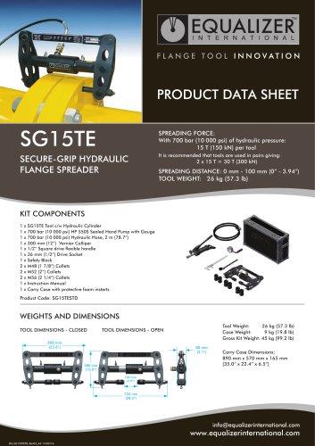 SG15TE Secure-Grip Flanschspreizer