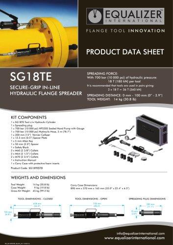 SG18TE Secure-Grip Flanschspreizer