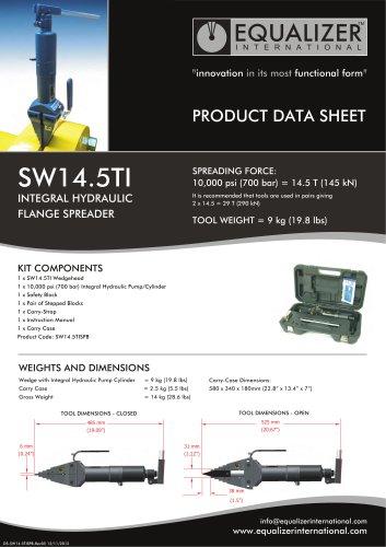 SW14,5TI Flanschspreizer mit Integrierte Pumpe