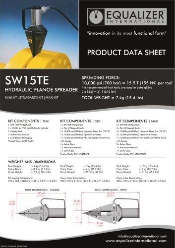 SW15TE Flanschspreizer hydraulisch
