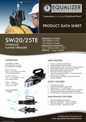 SWi2025TE Flanschspreizer hydraulisch