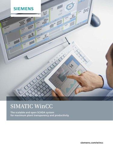 SIMATIC WinCC - Siemens Process Instrumentation - PDF Catalogs